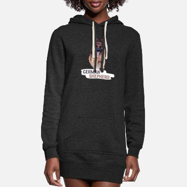 German Shepherd German Shepherd - German Shepherd - Women's Hoodie Dress