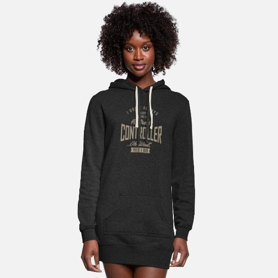 Occupation Hoodies & Sweatshirts - Controller - Women's Hoodie Dress heather black