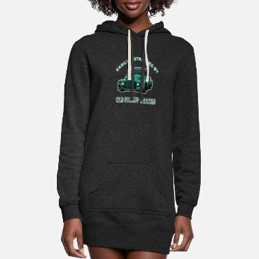 Automobile Easily Distracted By Old Pickup - Women's Hoodie Dress