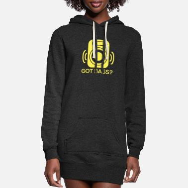 Bass Bass - Got Bass? - Women's Hoodie Dress