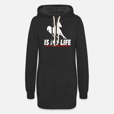 Horse Breed Horse Breeding Is My Life - Women's Hoodie Dress
