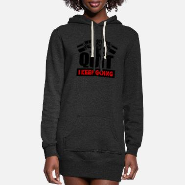 Body Body - Women's Hoodie Dress