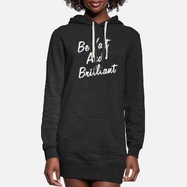 Brilliant VAST AND BRILLIANT - Women's Hoodie Dress