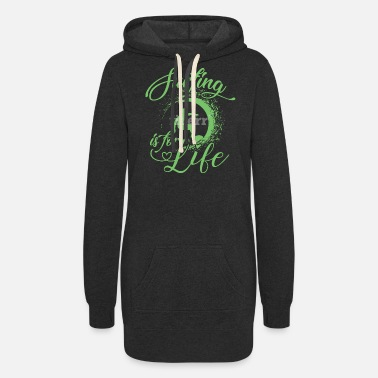 Saliboat Surfing is for life - Women's Hoodie Dress