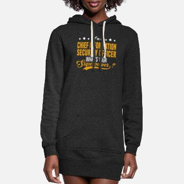 Officer Chief Information Security Officer - Women's Hoodie Dress