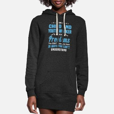 Worker Child and Youth Worker - Women's Hoodie Dress