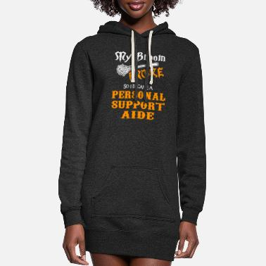 Worker Personal Support Aide - Women's Hoodie Dress