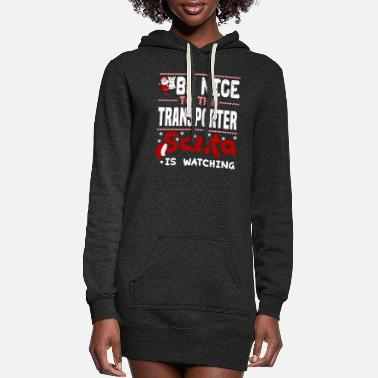 Transport Transporter - Women's Hoodie Dress