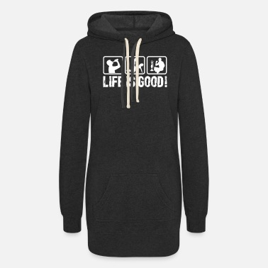 Quotes Life is so good! - Women's Hoodie Dress