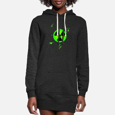 Nuclear nuclear - Women's Hoodie Dress