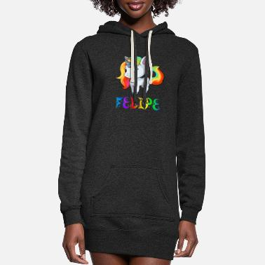 Felipe Felipe Unicorn - Women's Hoodie Dress