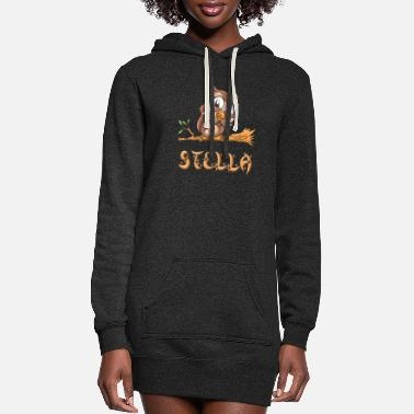 Stella Stella Owl - Women's Hoodie Dress