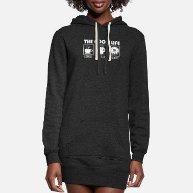 Belly The Good Life Coffee Beer Donut - Women's Hoodie Dress