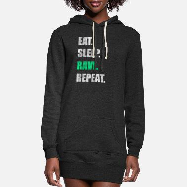 Rave Rave Raver Raving - Women's Hoodie Dress