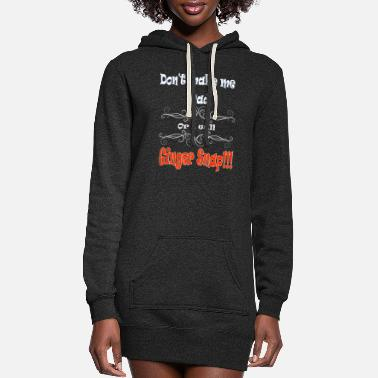 Don't Make Me Mad or I will Ginger Snap - Women's Hoodie Dress