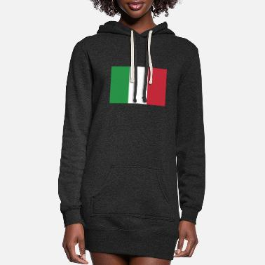 Italy Flag of Italy, Italys flag, flag Italy, Italy flag - Women's Hoodie Dress
