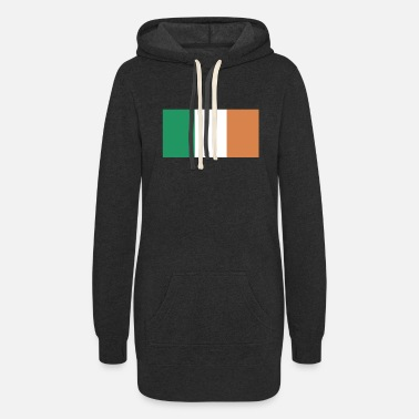 Ireland Flag of Ireland, Irelands flag, Ireland flag - Women's Hoodie Dress
