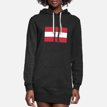 Austria Flag of Austria, Austrias flag, Austria flag - Women's Hoodie Dress