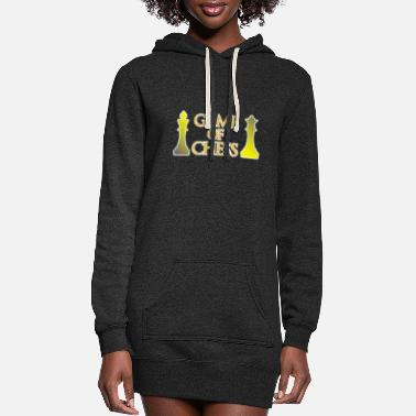Chess Game of Chess - Chess - Women's Hoodie Dress