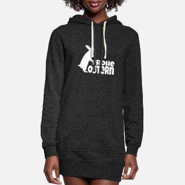 Happy Easter Happy Easter - Happy Easter - - Women's Hoodie Dress