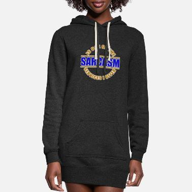 Sarcasm Sarcasm / sarcasm - Women's Hoodie Dress
