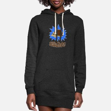 Swag Hedgehog Swaghog SWAG Sunglasses - Women's Hoodie Dress