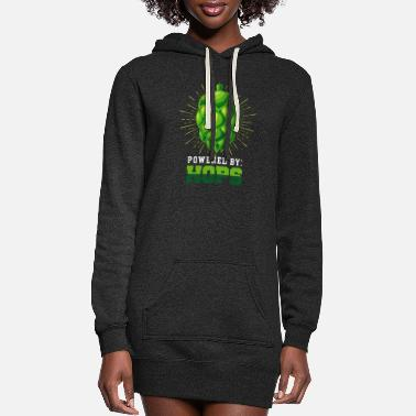 Powered by Hops - Women's Hoodie Dress