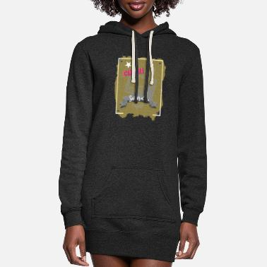 Cinema Cinema - Women's Hoodie Dress