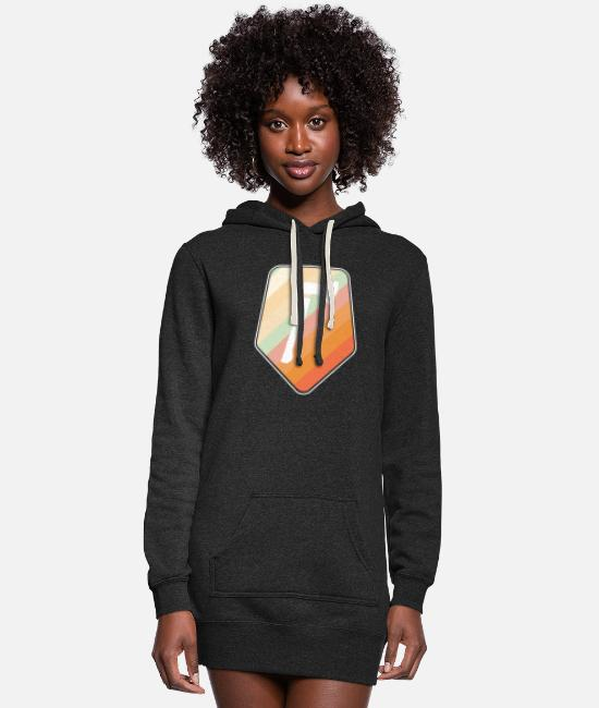 Axe Hoodies & Sweatshirts - Ax - Women's Hoodie Dress heather black