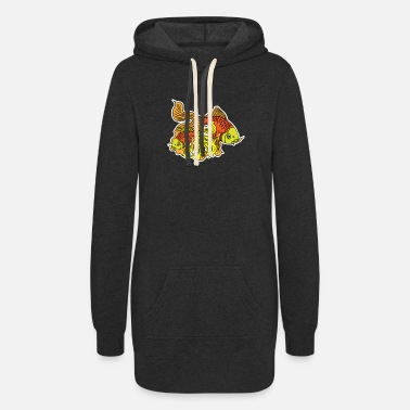 Plaice Fish Koi carp - Women's Hoodie Dress