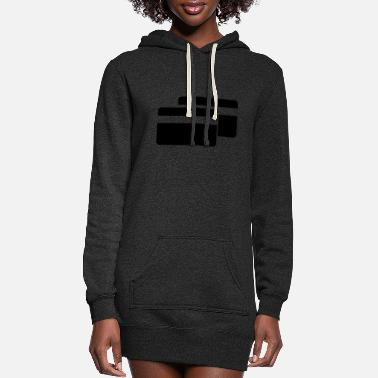 Cards Cards Credit Cards - Women's Hoodie Dress