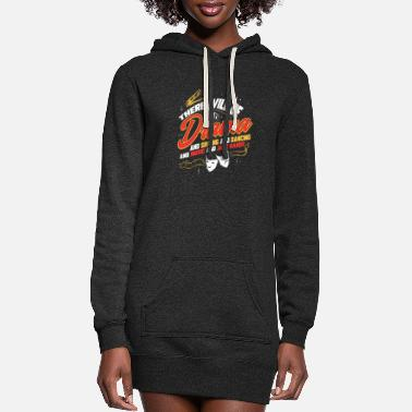 Rehearsal Theatre Drama Theater Broadway Musical Actor - Women's Hoodie Dress