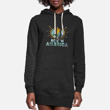 South America South America - Women's Hoodie Dress