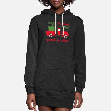 Hallmark Christmas Movies This Is My Hallmark Christmas Movie Watching Shirt - Women's Hoodie Dress
