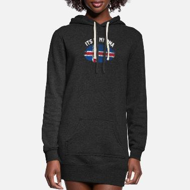 Island Iceland - Women's Hoodie Dress