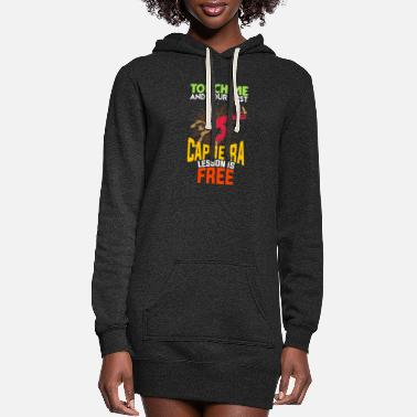 Mobile Capoeira saying martial arts teacher dancing - Women's Hoodie Dress