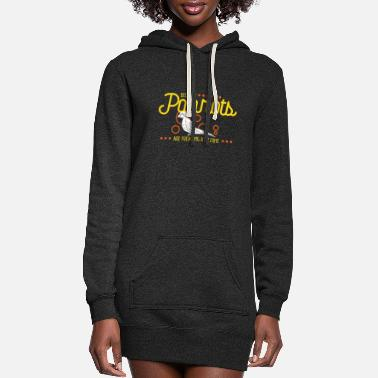 Freak Because Parrots Are Freaking Awesome - Women's Hoodie Dress