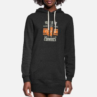 Exercise Your Body Can Stand Almost Anything. It's Your - Women's Hoodie Dress