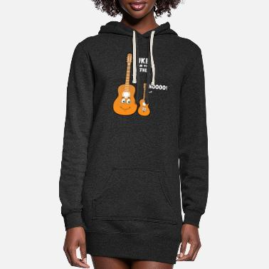 B Day Uke I am your father' cute guitar and ukulele gift - Women's Hoodie Dress