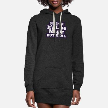 Cool Text Science research award gift - Women's Hoodie Dress