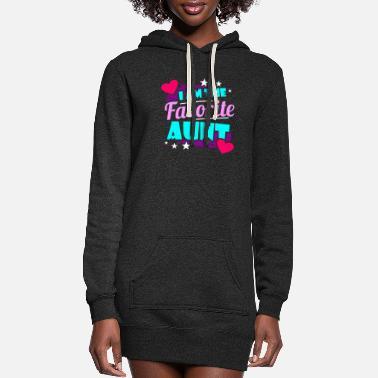 Aunt Aunt - Women's Hoodie Dress