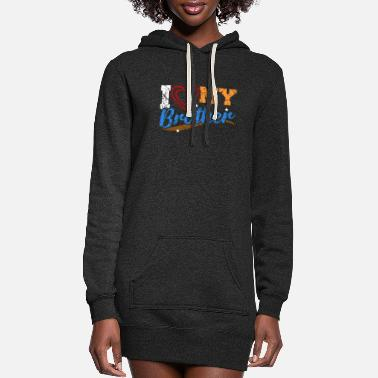 Brother Brother - Women's Hoodie Dress