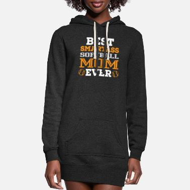 Bike Best smart mother - Women's Hoodie Dress
