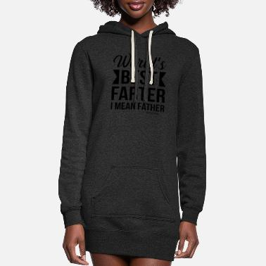 Affection Papa Papi family love man gift Father's Day - Women's Hoodie Dress