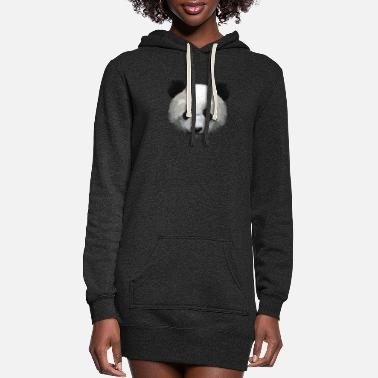 Mammal Panda Panda's Gift Sweet Forest Bear - Women's Hoodie Dress