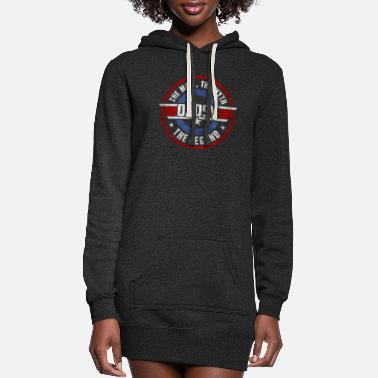 Amusing The Man The Myth The Legend Dadsy - Women's Hoodie Dress