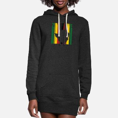 Africa Zimbabwe Africa Shirt Gift Idea - Women's Hoodie Dress