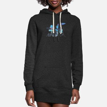 Fan Drummer - Women's Hoodie Dress