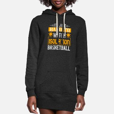 China It s just hard to watch isolation basketball - D3 - Women's Hoodie Dress