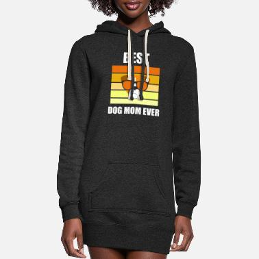 The People Who Need Dogs Best Dog Mom Ever - Women's Hoodie Dress